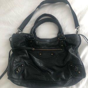 Balenciaga Small Classic City Leather Bag
